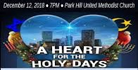 A Heart for the Holy-Days publicity design