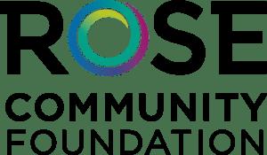 Logo of Rose Community Foundation